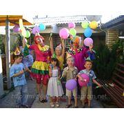 День рождения с клоунами фото