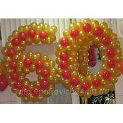 Буквы или цифры из воздушных шаров в Саратове фото
