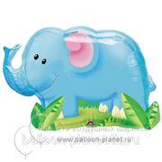 Слон из джунглей