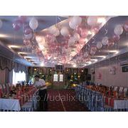 Украшение воздушными шарами фото
