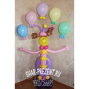 Клоун-жонглер фото
