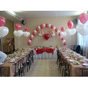 Оформление зала, шарами! фото