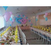 Торжественное украшение зала на праздник фото