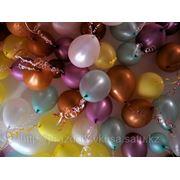 Оформление зала ходячими шарами в Астане фото