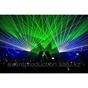 Лазерное шоу 3D в Атырау фото