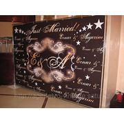 Разработка (празничных баннеров) пресс-стена фото