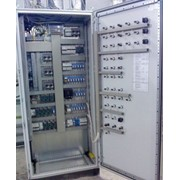 Монтаж электротехнических шкафов (автоматика, релейно-контакторные, тиристорные схемы, контроллеры) фото
