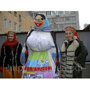 Масленица -фольклорный ансамбль У Барина на праздник.
