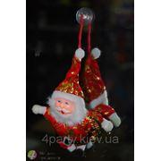 Сувенир маленький Дед Мороз на присоске фото