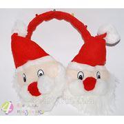 Наушники Дед мороз теплые фото