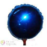 Шар синий фольгированный фото