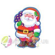 Баннер Дед Мороз 41см (картон, глянец) фото