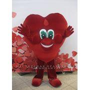 Ростовая кукла Сердце в Новосибирске. Сердце на прокат фото