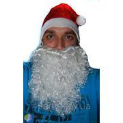 Борода Деда мороза средняя фото