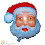 Шар фольгированный Санта (голова) фото