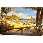 Магнит Гавайский Алоха (пляж) фото