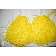 Помпон желтый фото