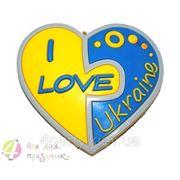 """Магнит """"I Love Ukraine"""" фото"""