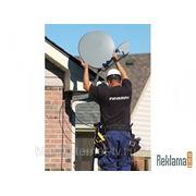 Установка и подключение систем спутникового ТВ фото