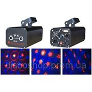 Лазер TVS VS66T Red and blue multi-heart laser lights 300mW фото