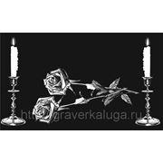 Розы и свечи фото