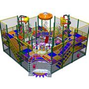 Детские аттракционы игровые лабиринты павильоны с воздушными пушками фото