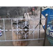 Кованная ограда фото