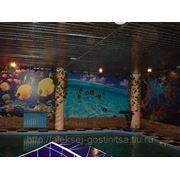 Сауна с теплым бассейном фото