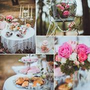 Оформление свадебной фотосессии фото