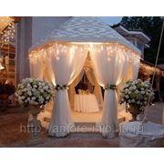 Свадебные шатры и арки фото