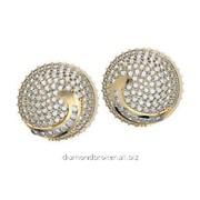 Серьги с бриллиантами E29161-3
