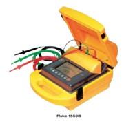 Измеритель сопротивления изоляции Fluke-1550B. Терраомметр до 1 ТОм, тест. напряжение 500,1000, 2500 и 5000В, изм. пробивн. напряжения, таймер,интерфейс для ПК