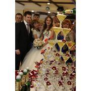 Свадебный каскад фото