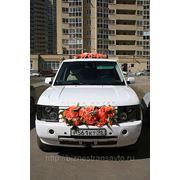 Свадебные украшения на авто купить фото