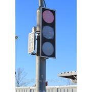 Светофор светодиодный транспортный 1-2ми фото