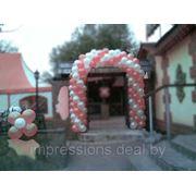 Арки из воздушных шаров для праздничного мероприятия фото