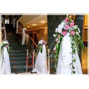 Оформление лестницы в ресторане Palladium фото