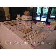 Свадебный Candy bar золото фото