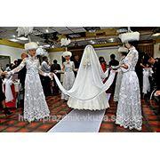Вывод невесты под тюлем фото