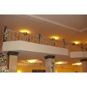 """Оформление балкона """"Цветочная композиция"""" фото"""