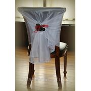 Накидки на стулья с вишней фото