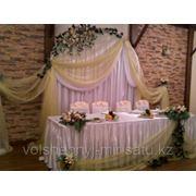 Свадебные композиции для стола молодоженов фото