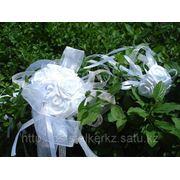 Букет невесты из искусственных цветов. фото