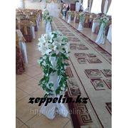 Напольные стойки оформление на регистраций брака. фото