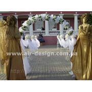 Украшение свадьбы, свадебная арка