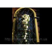 Свадебное оформление храмов, церемонии венчания цветами, Киев фото