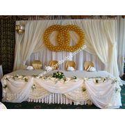 Оформление свадьбы цветами Днепропетровск, украшение свадьбы цветами фото