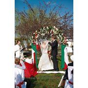 Выездная регистрация, организация свадебного кейтеринга фото