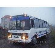 Школьные перевозки на автобусе ПАЗ фото