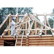 Огнезащитная обработка конструкций. фото